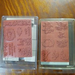 Stampin' Up Stampers, 2 set bundle, NWOT
